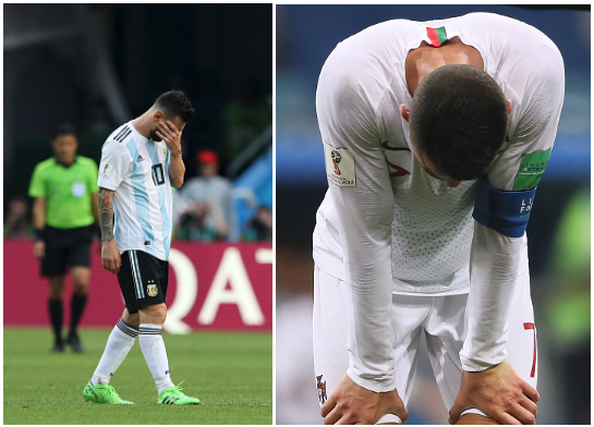 Double Exit! Messi, Ronaldo Crash out of World Cup