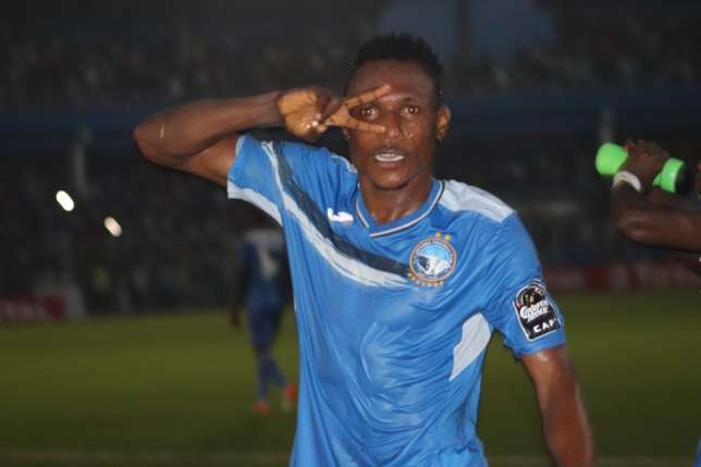 Wasiu Alalade expresses delight after scoring Enyimba's winning goal vs CARA Brazzaville