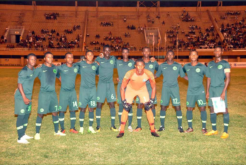 U-17 AFCON: Golden Eaglets draws Tanzania, Algeria and Congo