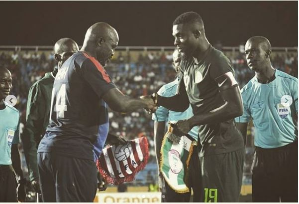 Liberian president George Weah rewards Eagles players with $2,000 each
