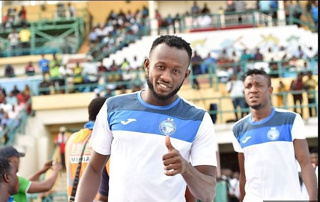 Mfon Udoh signals the end of Enyimba career