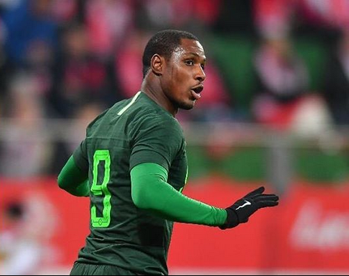 Odion Ighalo close to exclusive list of Super Eagles record goalscorers