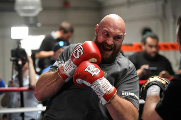 Joshua's team won't allow him fight me – Tyson Fury