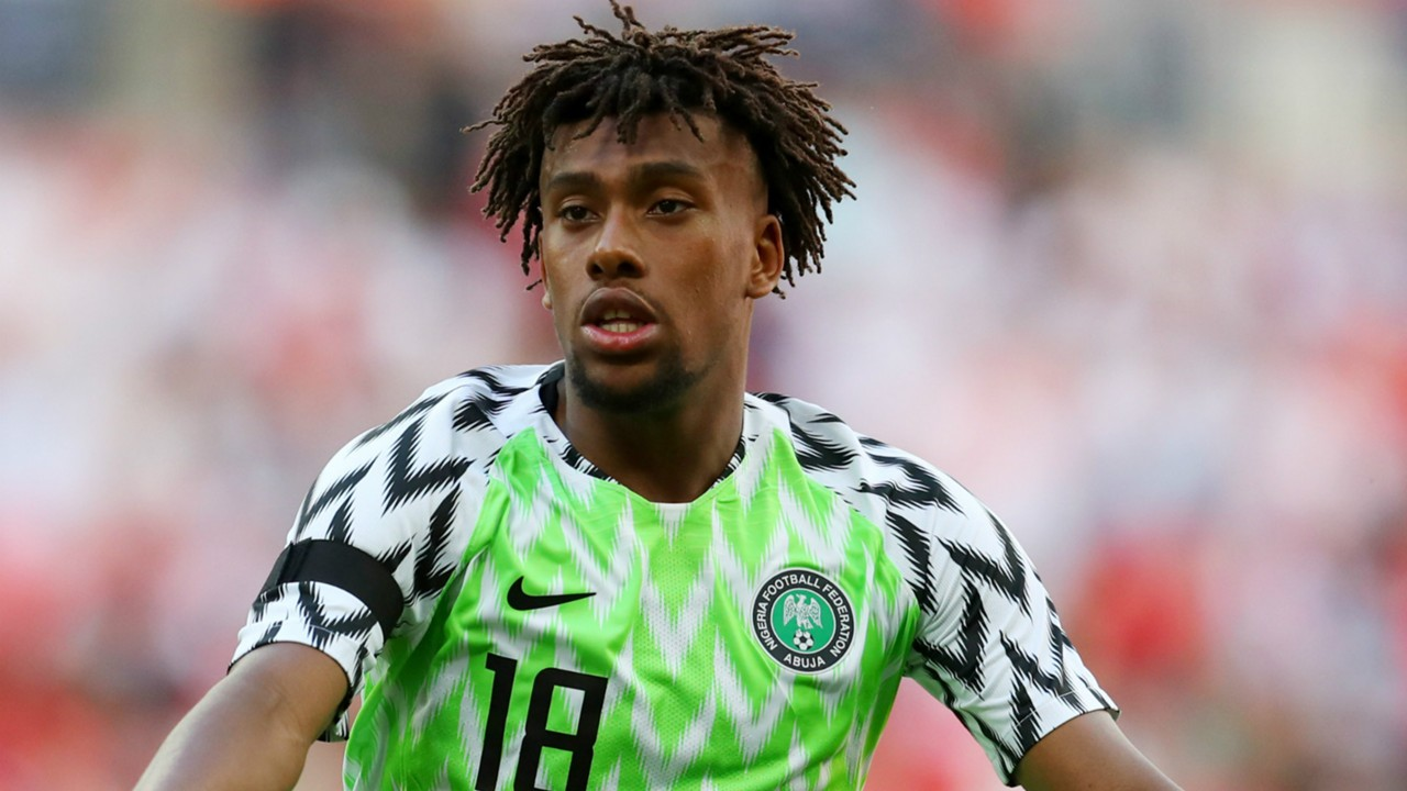 Benin Rep vs Nigeria : Alex Iwobi tests Positive for COVID-19