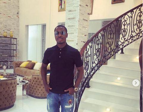 Odion Ighalo opens multi-million naira Lagos mansion