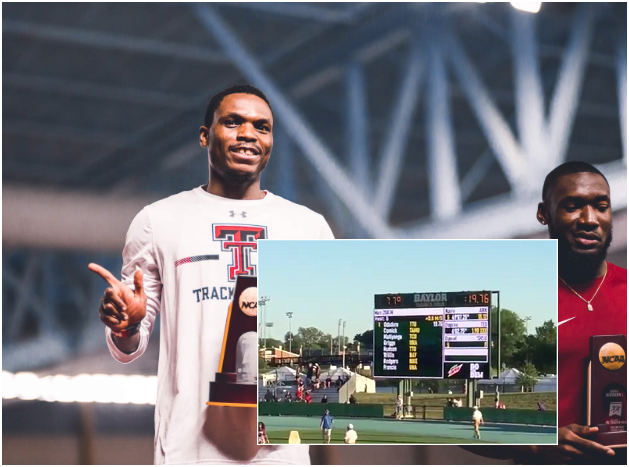 VIDEO: Divine Oduduru blistering speed as he clocks fastest 200m in 2019