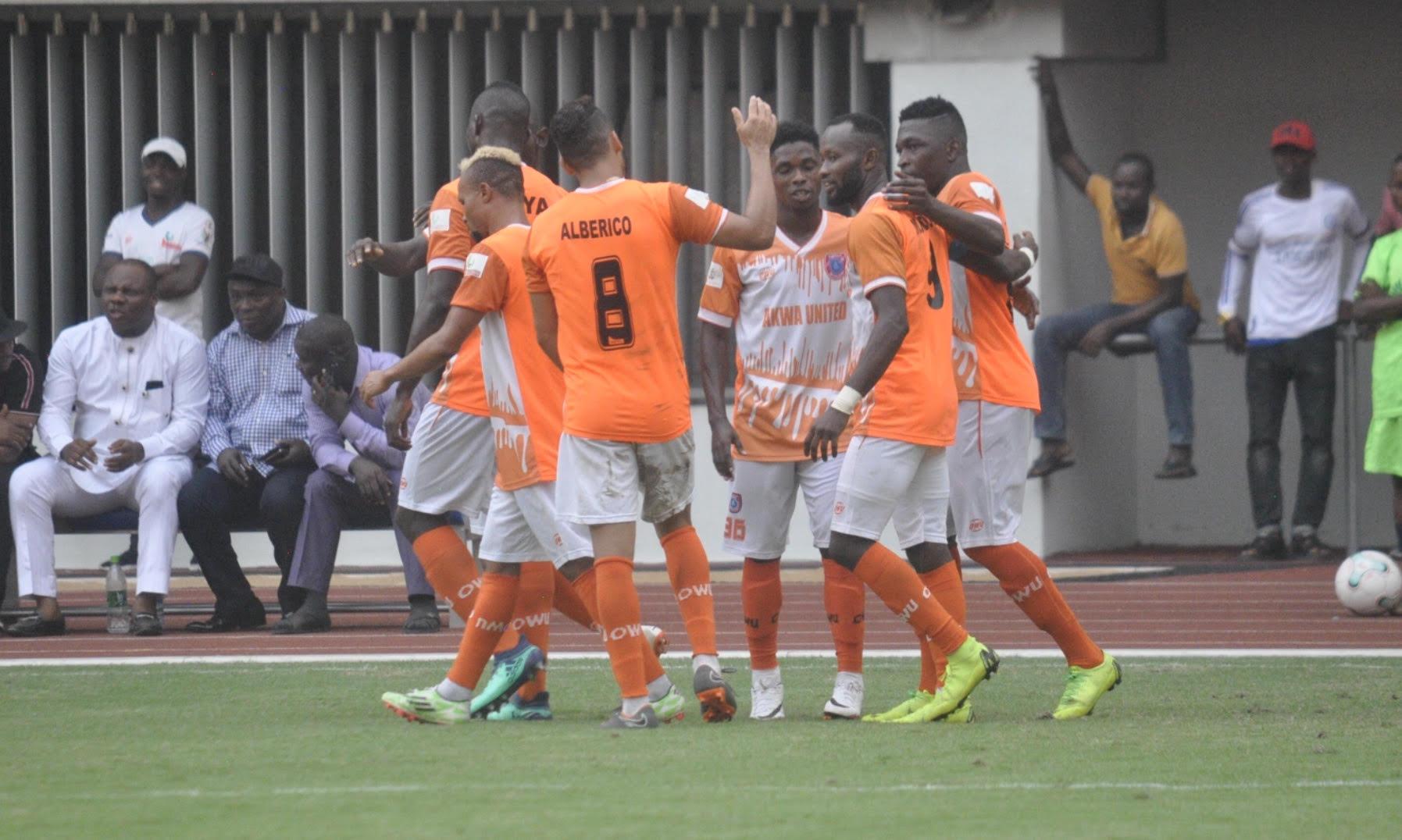 Akwa United Midfielder happy Goals Form this season