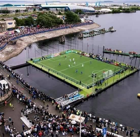 Angola, first African Nation to build a Water Stadium