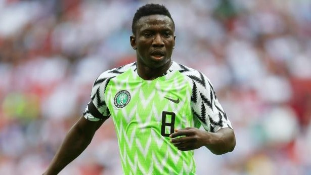 Etebo says Super Eagles will miss leadership qualities of Mikel, Ighalo