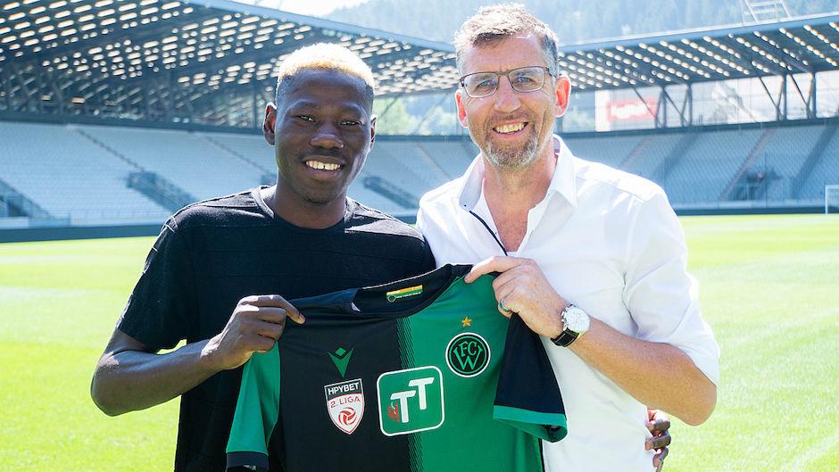 Sunday Faleye joins Austrian top flight club FC Wacker
