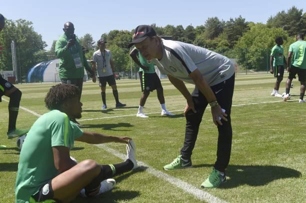 A Winger or Number 10? Alex Iwobi addresses Rohr's Headache