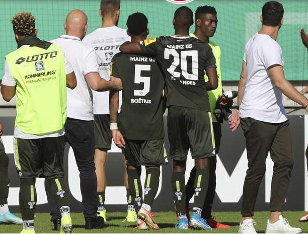Taiwo Awoniyi suffers set-back in Mainz 05 debut game