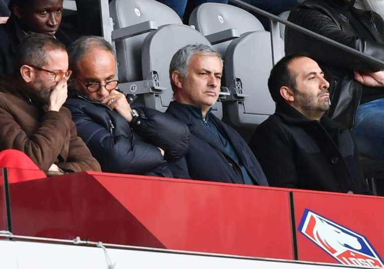 Mourinho Watched Osimhen Against Nimes