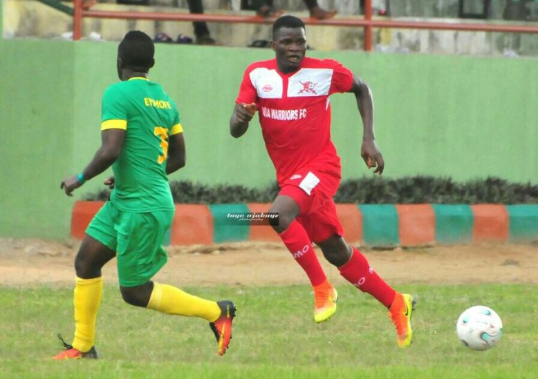 Abia Warriors defender Ozor Chinedu talks tough ahead of Adamawa United clash
