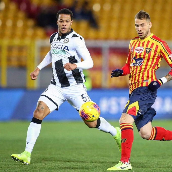 Ekong helps Udinese pick first win and clean sheet in 2020