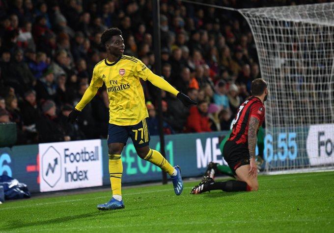 Saka hails strong Arsenal mentality under Arteta