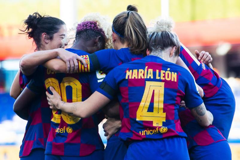 No Goal for Oshoala in Barcelona Easy Win over Rayo Vallecano