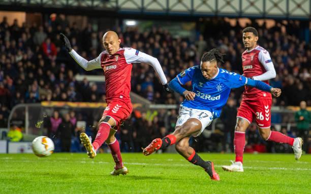 """Come back king"",  Aribo scores in Rangers win over Braga"