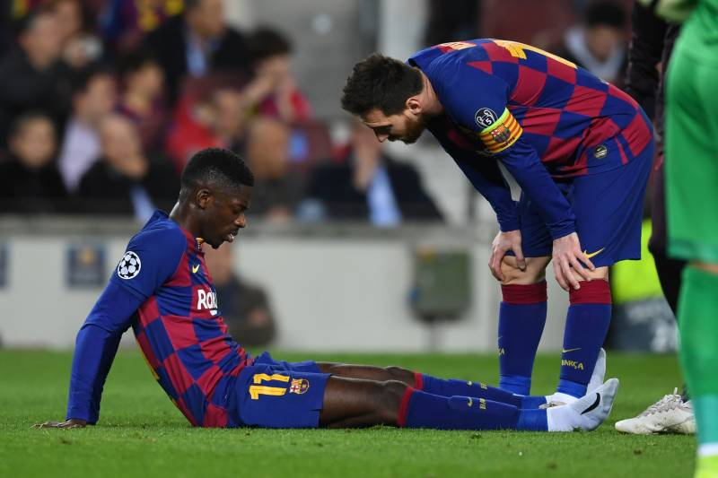 Recurring Injuries – Former West Brom defender slams Barca forward Ousmanne Dembele