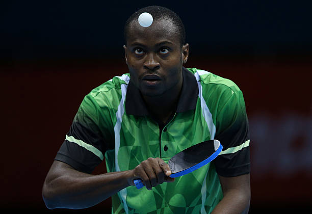 Oshodi hopes Aruna gets more luck in quest for World Table Tennis tour semis