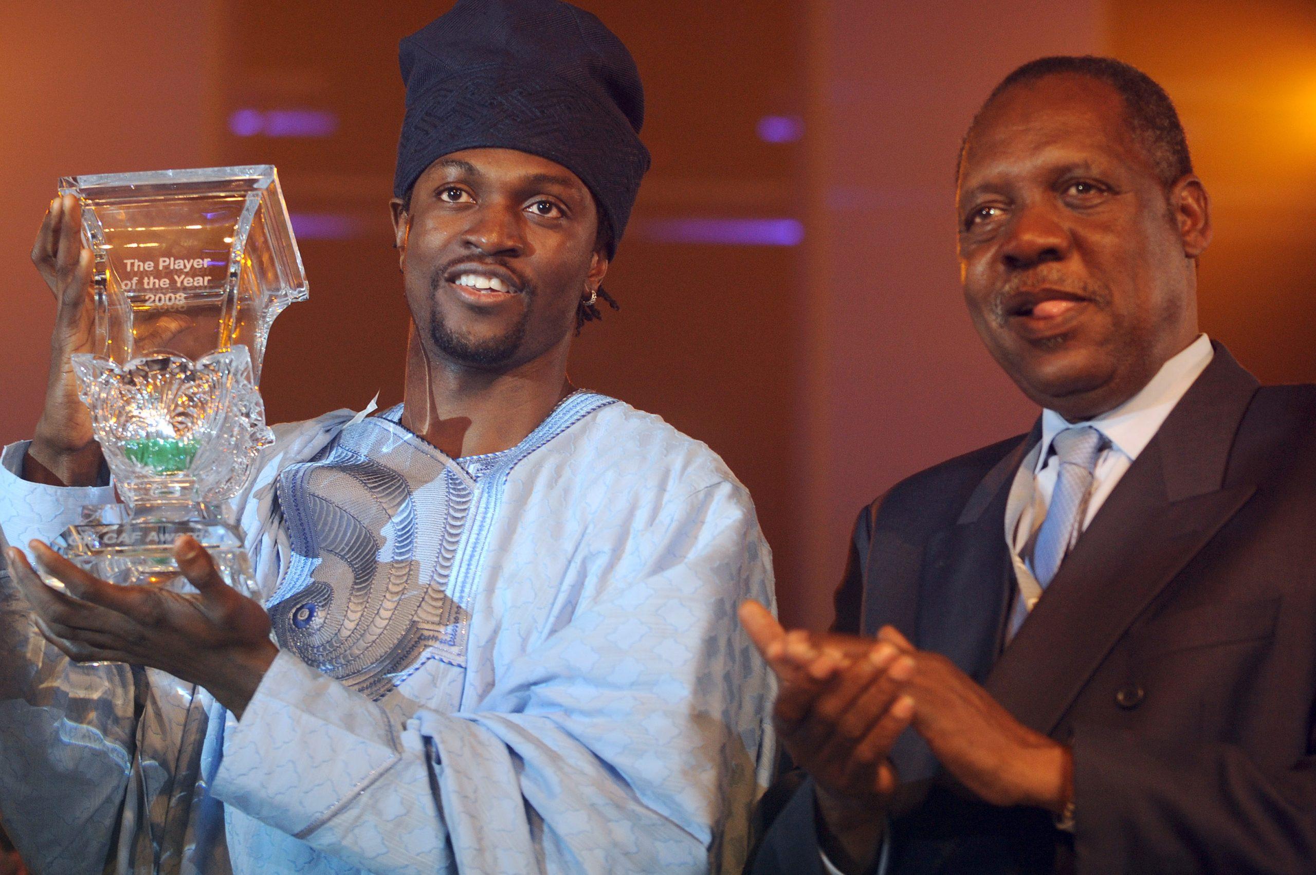 Okpara calls on Adebayor to return 2008 African Player of the year award