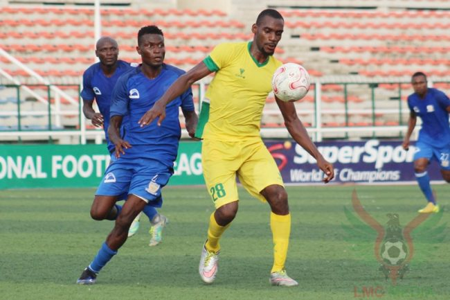 Nwagua delights in winning strike that shoots Pillars top of the NPFL
