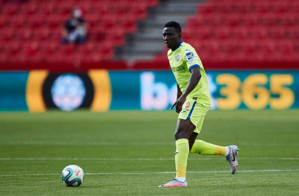 Etebo sees yellow, Azeez benched as Granada stun Getafe at Los Carmen