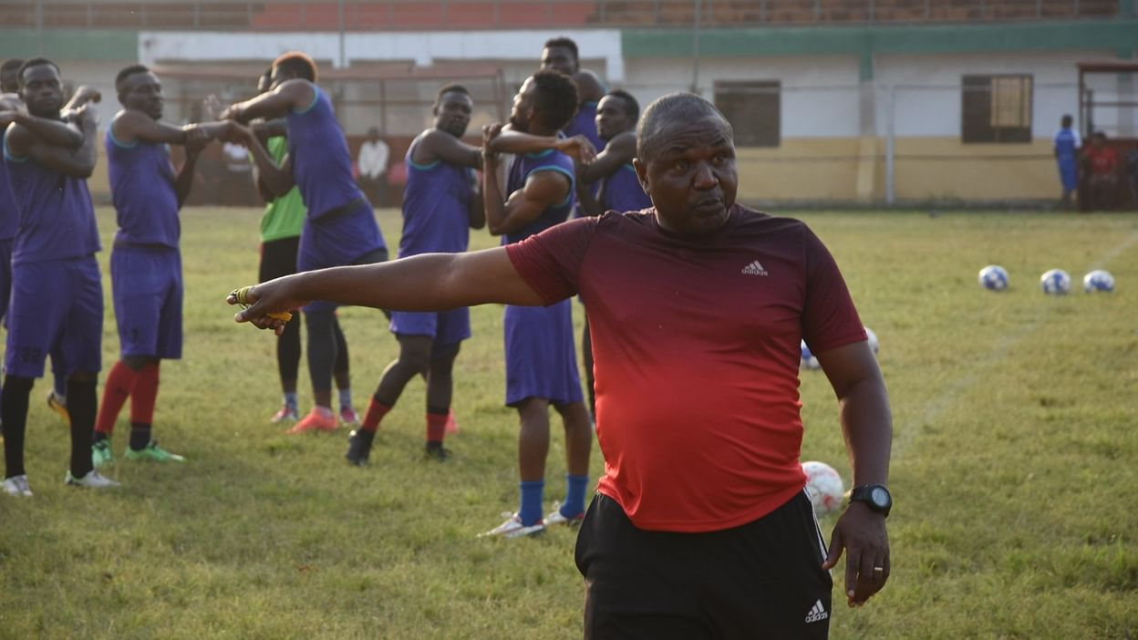 Ndube anxious to get back to league business