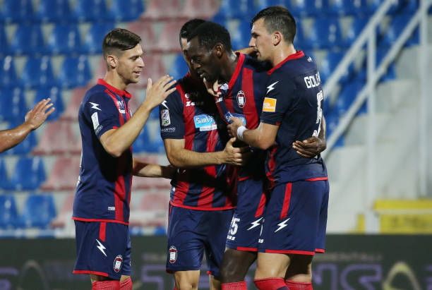 Simy Nwankwo's 10th League goal of the season helps Crotone beat Torino