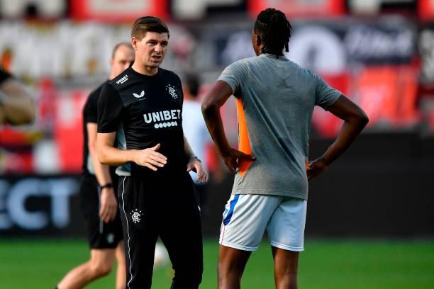 Aribo and Balogun can compete against Lyon – Gerrard