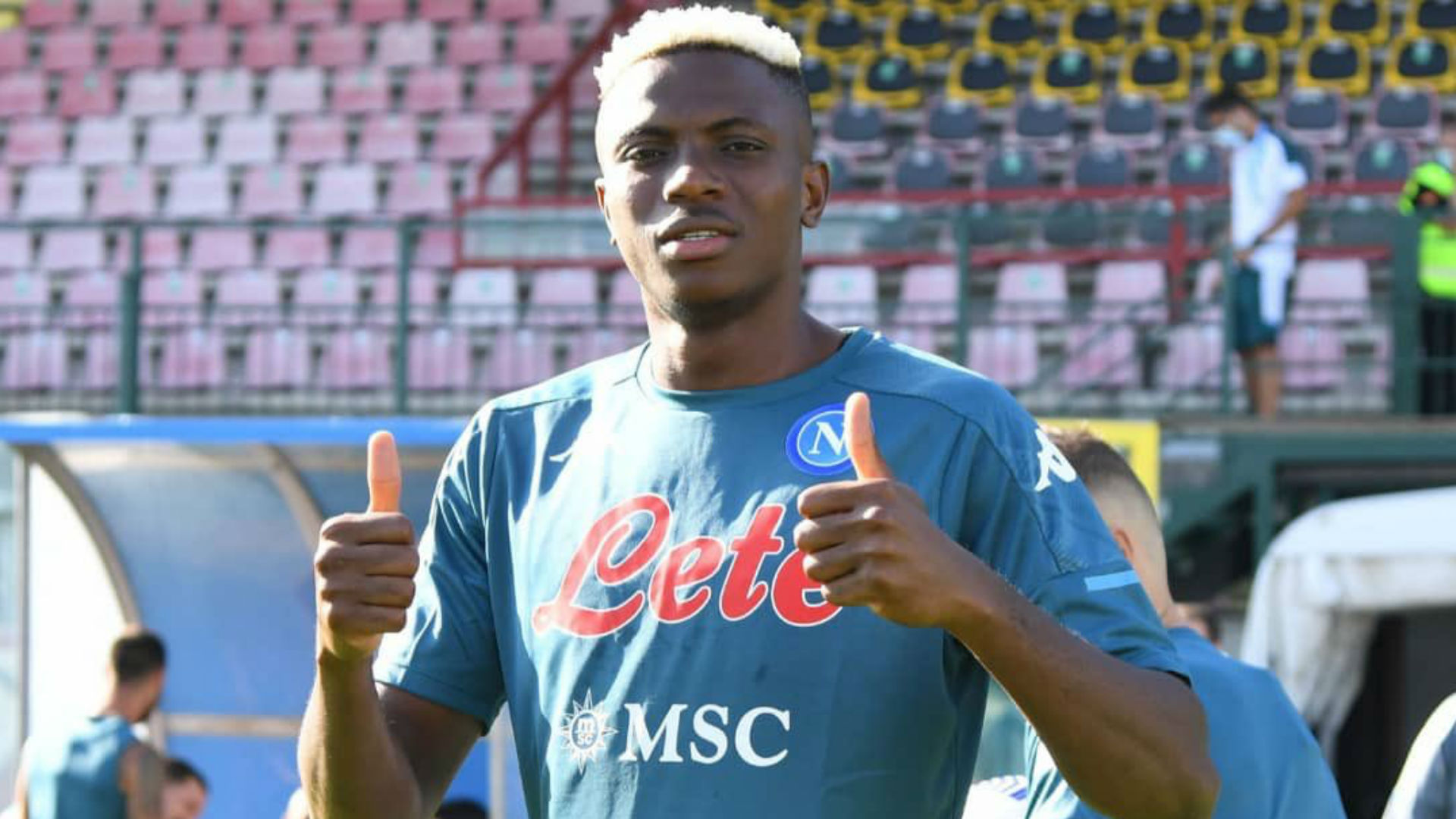 Osimhen finds new home in Naples