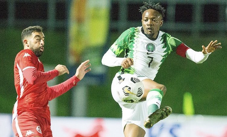 NFF celebrates Ahmed Musa at 27