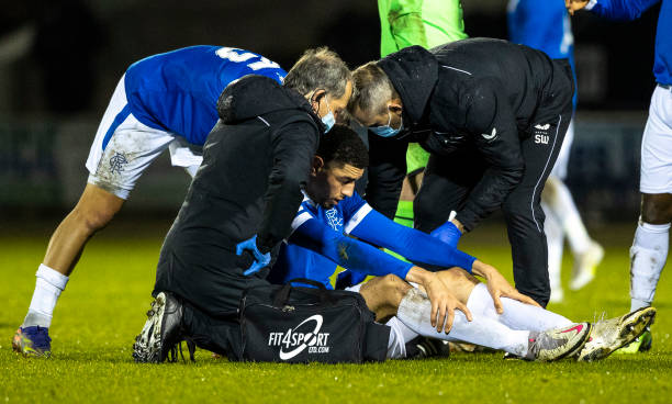 Gerrard confirms Balogun is injury doubt for Rangers clash with Livingston