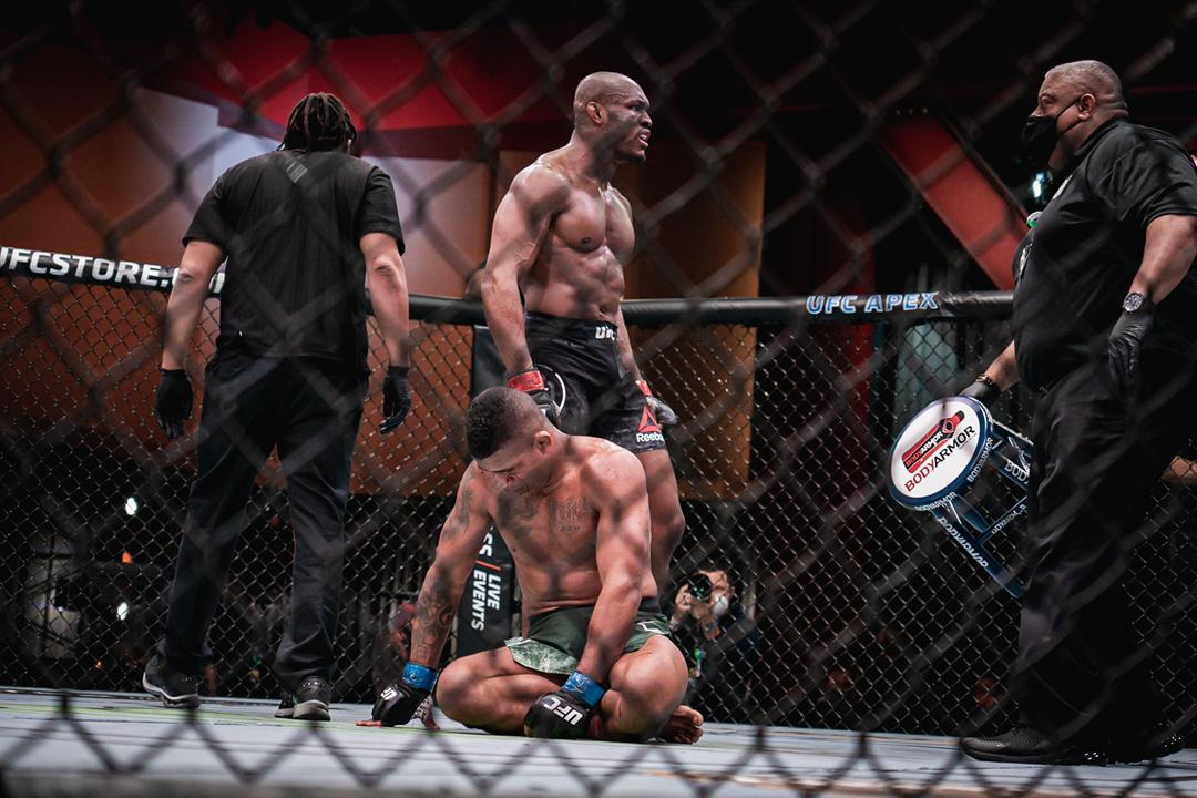 Kamaru Usman destroys Gilbert Burns at UFA 258, calls out Jorge Masvidal for a rematch