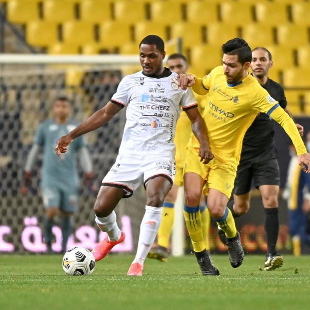 Odion Ighalo opens goal account in Saudi Arabia for Al-Shabab