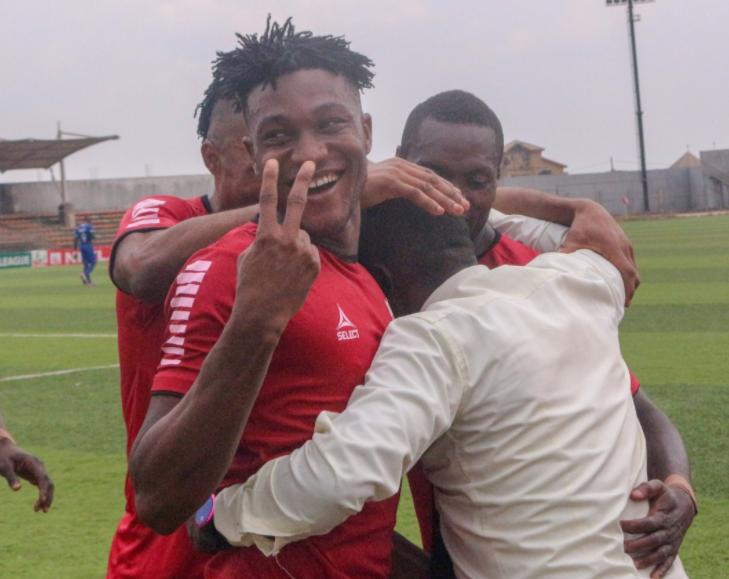 Maduforo Kingsley's later winner secures Victory for Heartland over Dakkada