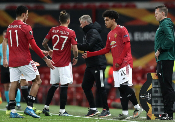 Shoretire relishes his European debut for Manchester United