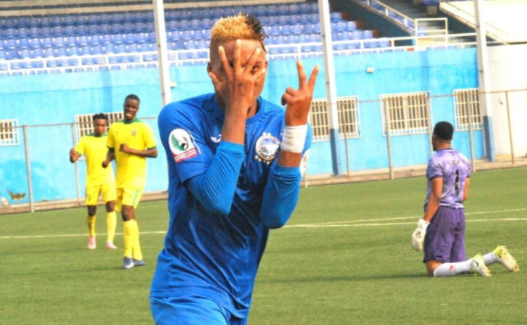 Enyimba forward Omoyele talks tough ahead CAFCC clash with Rivers United