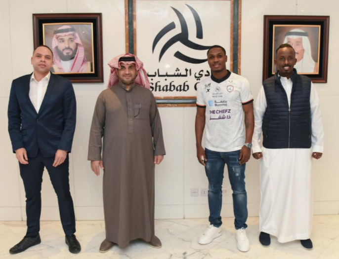 Odion Ighalo completes Al Shabab FC switch