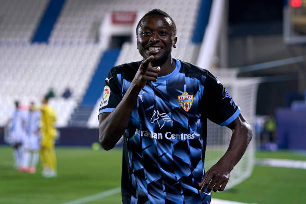 Sadiq Umar nets 14th goal of the season for UD Almeria