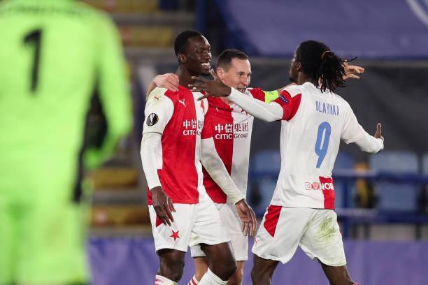 Olayinka bags Assist as Slavia Prague stun Leicester City in Europa League