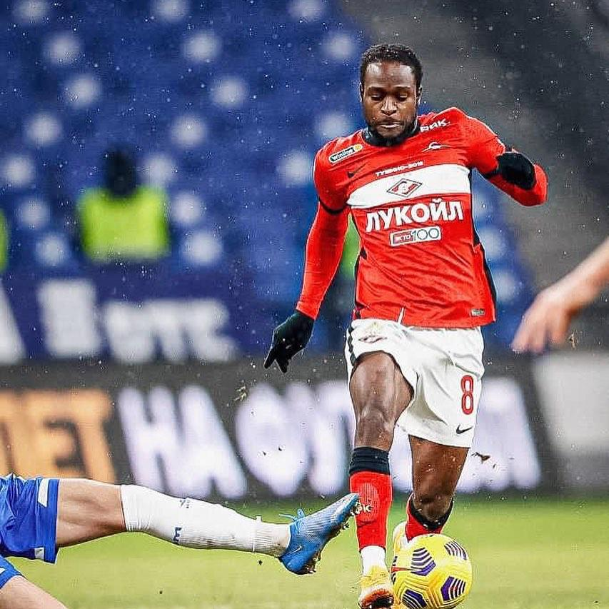 Victor Moses nets in Spartak Moscow's win over Rostov