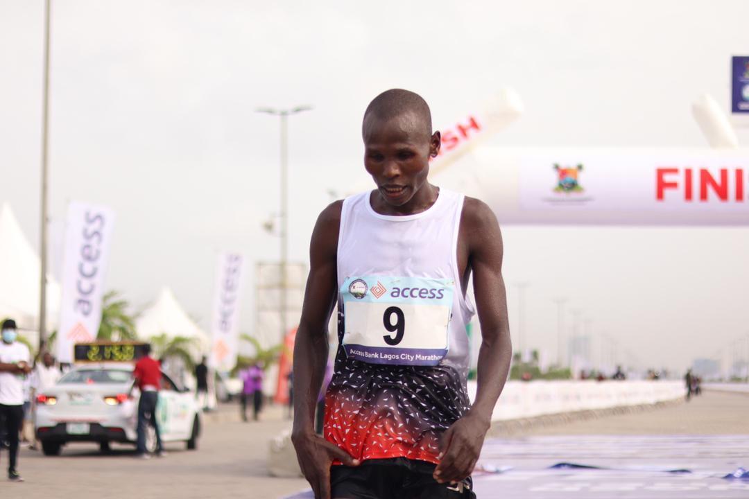 Kenya's Emmanuel Naibei wins 2021 Lagos City Marathon