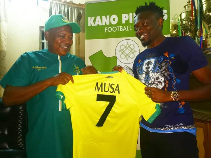 Musa to play for free at Kano Pillars – Dikko