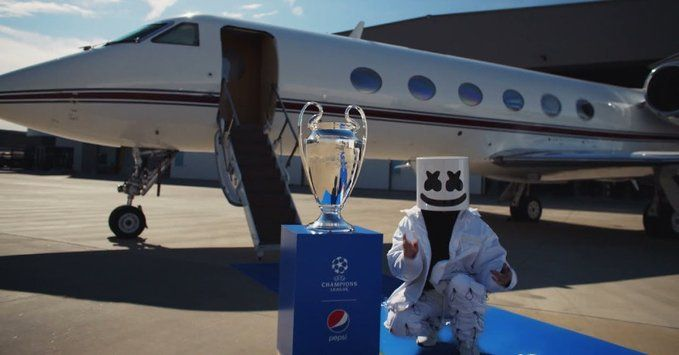 Pepsi is giving us The Best UEFA Champions League Opening ceremony. EVER!!!