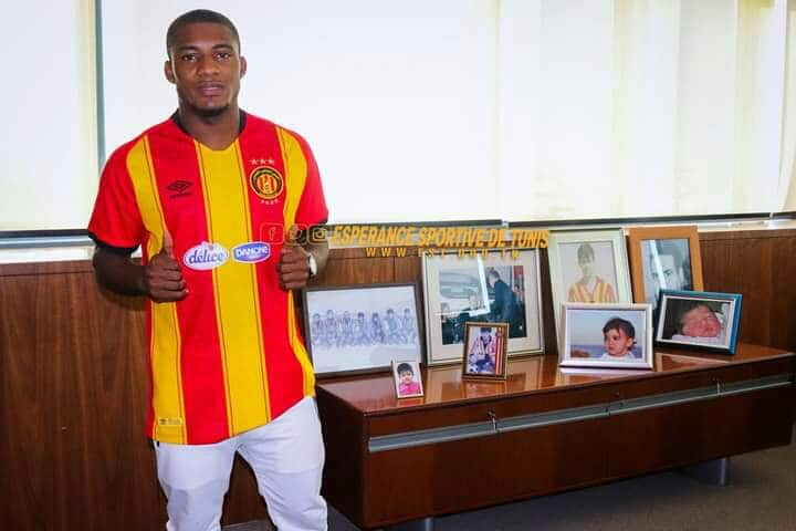 Espérance glad to complete the signing of Anayo Iwuala