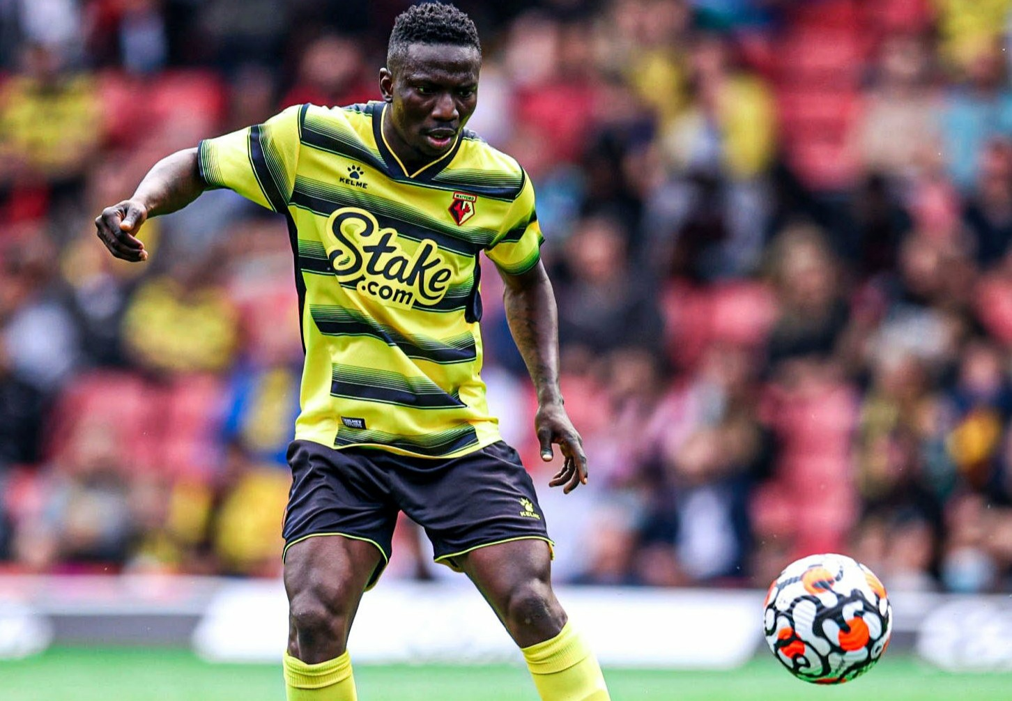 Super Eagles midfielder ETEBO is injured, could be out for five months