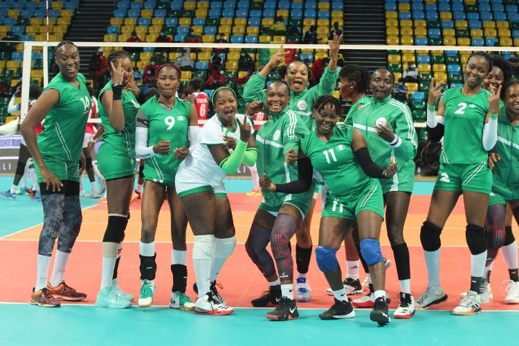 2021 V/ball Nations Cup: Nigeria women crush Senegal