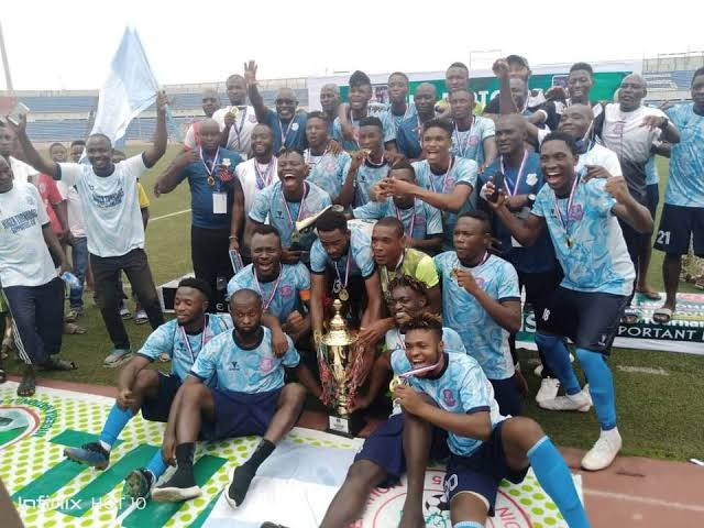 Niger Tornadoes signs Moses Danladi from Enyimba