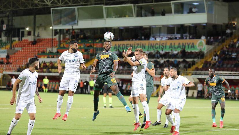 Awaziem stars as Alanyanspor edged Kayserispor in nine-goal thriller